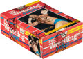 Boxing Cards:General, 1985 Topps WWF Pro Wrestling Stars Wax Box With 36 Unopened Packs. ...