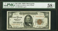 Fr. 1880-I $50 1929 Federal Reserve Bank Note. PMG Choice About Unc 58 EPQ