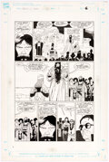 Original Comic Art:Story Page, Mike Mignola and Al Williamson Fafhrd and the Gray Mouser #4 Story Page 6 Original Art (Marvel, 1991)....