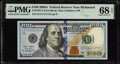Small Size:Federal Reserve Notes, Near Solid Serial Number 11111114 Fr. 2187-E $100 2009A Federal Reserve Note. PMG Superb Gem Unc 68 EPQ.. ...