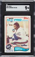 """Football Cards:Singles (1970-Now), 1982 Topps Lawrence Taylor #144 SGC Mint 9. """"L.T.""""..."""