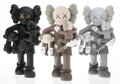 Collectible, KAWS (b. 1974). Clean Slate (set of 3), 2018. Painted cast vinyl. 14 x 8 x 8 inches (35.6 x 20.3 x 20.3 cm) (each). Open... (Total: 3 Items)