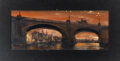 """Movie/TV Memorabilia:Original Art, From Hell Concept Oil Painting of """"Concept Art of London 1"""" (TCF, 2001). ..."""