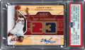 Basketball Cards:Singles (1980-Now), 2008 Fleer Hot Prospects LeBron James The Numbers Signed J...