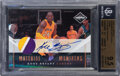 Basketball Cards:Singles (1980-Now), 2010 Limited Material Monikers Kobe Bryant (Prime) #30 BGS...