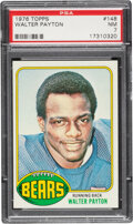 Football Cards:Singles (1970-Now), 1976 Topps Walter Payton #148 PSA NM 7. The offici...