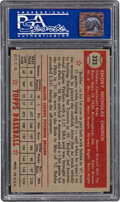 Baseball Cards:Singles (1950-1959), 1952 Topps Bubba Church #323 PSA NM-MT 8. Offered ...