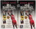 Basketball Cards:Unopened Packs/Display Boxes, 1992-93 Upper Deck Basketball Series 2 Unopened Hobby Box Pair (2) - Shaquille O'Neal Rookie Year! ...