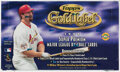 Baseball Cards:Unopened Packs/Display Boxes, 1998 Topps Gold Label Baseball Hobby Box With 24 Unopened Packs. ...