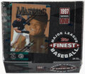 Baseball Cards:Unopened Packs/Display Boxes, 1997 Topps Finest Series 1 Baseball Hobby Box With 24 Unopened Packs. ...