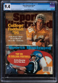 Football Collectibles:Publications, 1996 Peyton Manning First Sports Illustrated Cover...