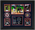 Autographs:Photos, 2019 World Series Juan Soto Signed Display - With World Series Dirt!...