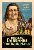 """Movie Posters:Adventure, The Iron Mask (United Artists, 1929). Very Fine- on Linen. One Sheet (28.25"""" X 41.25"""").. ..."""