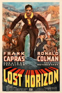 """Lost Horizon (Columbia, 1937). Very Fine on Linen. One Sheet (27"""" X 40.75"""") Style C, James Montgomery Flagg Ar..."""