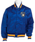 Movie/TV Memorabilia:Costumes, Anson Williams Personal Milwaukee Brewers Jacket Gifted by...