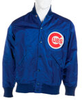 Movie/TV Memorabilia:Costumes, Anson Williams Personal Chicago Cubs Jacket Gifted by Team (1979). ...