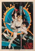 Movie/TV Memorabilia:Autographs and Signed Items, Rare Howard Chaykin Signed Star Wars: Episod...