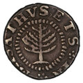 1652 Pine Tree Shilling, Small Planchet -- Excessive Clipping -- PCGS Genuine. XF Details. Noe-16, W-835, Salmon 2-B, R...