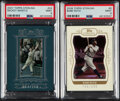 Baseball Cards:Lots, 2007 & 2008 Topps Sterling Mickey Mantle and Babe Ruth PSA...