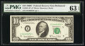 Small Size:Federal Reserve Notes, Fr. 2021-E* $10 1969C Federal Reserve Star Note. PMG Choic...