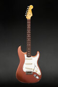 Musical Instruments:Electric Guitars, 1965 Fender Stratocaster Metallic Copper Solid Body Electr...