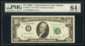 Small Size:Federal Reserve Notes, Fr. 2021-F* $10 1969C Federal Reserve Star Note. PMG Choic...