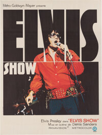 Elvis: That's the Way It Is/Elvis Show French Movie Poster (MGM, 1970)