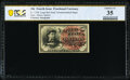 Courtesy Autograph Fr. 1258 10¢ Fourth Issue PCGS Banknote Choice VF 35