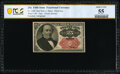 Fractional Currency:Fifth Issue, Courtesy Autograph Fr. 1309 25¢ Fifth Issue PCGS Banknote About Unc 55.. ...