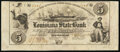 New Orleans, LA- Louisiana State Bank Second Municipality Branch $5 Apr. 11, 1856 Remainder Very Fine