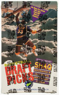 Basketball Cards:Unopened Packs/Display Boxes, 1992 Classic Draft Picks Basketball Factory Sealed Box With 36 Unopened Packs. ...