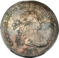 1797 $1 10x6 Stars, Large Letters, B-3, BB-71, R.2 -- Altered Surface -- PCGS Genuine. XF Details....(PCGS# 40004)