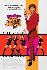 """Austin Powers: The Spy Who Shagged Me (New Line, 1999). Rolled, Very Fine+. One Sheet (27"""" X 40"""") SS. Comedy..."""