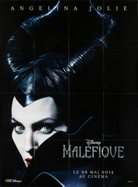 """Maleficent (Walt Disney Pictures, 2014). Folded, Very Fine+. French Grande (46.75"""" X 63""""). Fantasy"""