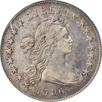 1796 $1 Small Date, Large Letters, B-4, BB-61, R.3, XF45 PCGS....(PCGS# 40000)