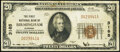 National Bank Notes:Alabama, Birmingham, AL - $20 1929 Ty. 1 The First National Bank Ch. # 3185 Fine-Very Fine.. ...