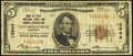 National Bank Notes:California, San Francisco, CA - $5 1929 Ty. 1 Bank of Italy National Trust & Savings Assoc Ch. # 13044 Very Good-Fine.. ...