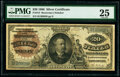 Large Size:Silver Certificates, Fr. 315 $20 1886 Silver Certificate PMG Very Fine 25.