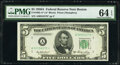 Small Size:Federal Reserve Notes, Fr. 1963-I $5 1950B Federal Reserve Note. PMG Choice Uncir...