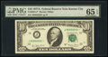 Small Size:Federal Reserve Notes, Fr. 2024-J* $10 1977A Federal Reserve Star Note. PMG Gem U...