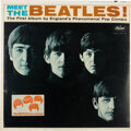 """Music Memorabilia:Recordings, Meet The Beatles Sealed Mono LP With """"The Beatles Are Coming"""" Promo Sticker (Capitol T 2047, 1964). ..."""