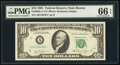 Small Size:Federal Reserve Notes, Fr. 2025-A* $10 1981 Federal Reserve Star Note. PMG Gem Un...
