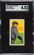 Baseball Cards:Singles (Pre-1930), 1909-11 T206 Piedmont 150/25 Cy Young (Bare Hand Shows) SG...