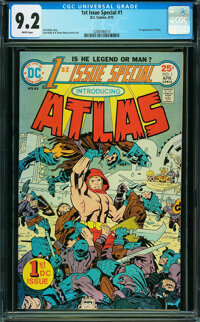 1st Issue Special #1 (DC, 1975) CGC NM- 9.2 White pages