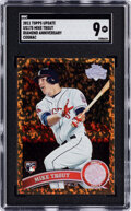 Baseball Cards:Singles (1970-Now), 2011 Topps Update Mike Trout (Diamond Anniversary-Cognac) ...