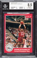 Basketball Cards:Singles (1980-Now), 1984-85 Star Co. Charles Barkley #202 BGS NM-MT+ 8.5.