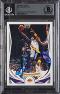 Basketball Cards:Singles (1980-Now), Signed 2004 Topps Kobe Bryant #8 BGS Authentic Autograph.