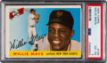 Baseball Cards:Singles (1950-1959), 1955 Topps Willie Mays #194 PSA VG-EX 4. Who can r...