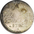 Luxembourg, Luxembourg: Francois II. French siege of 1795 72 Asses (Sols),...