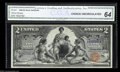 Large Size:Silver Certificates, Fr. 247 $2 1896 Silver Certificate CGA Choice New 64. A ...